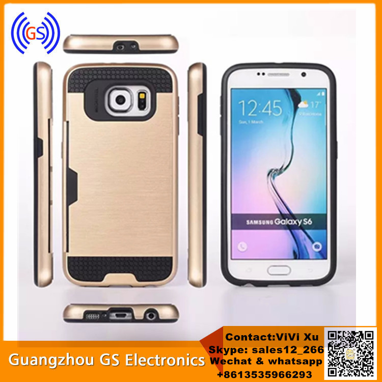Factory Price Direct Selling Hybrid Card Slot Case Back Cover For Samsung Galaxy Z3