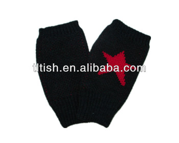acrylic knitted gloves
