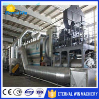 Waste tire/ plastic/ lubricating oil refining machine waste oil recycle plant