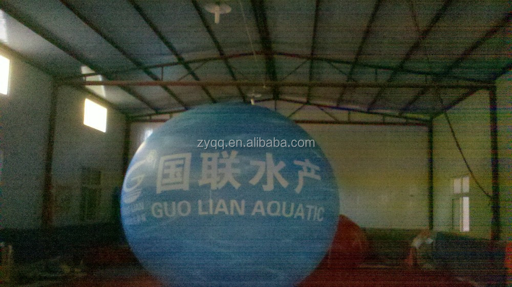 cheap custom made advertising ball / helium balloons/inflatable helium balloon