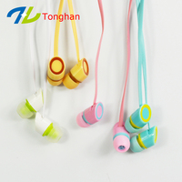 Cheap mobile phone in-ear earbuds with mic from China OEM factory