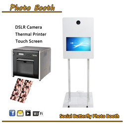 19 '' LCD touch screen photo booth vending machine sales manufacturers