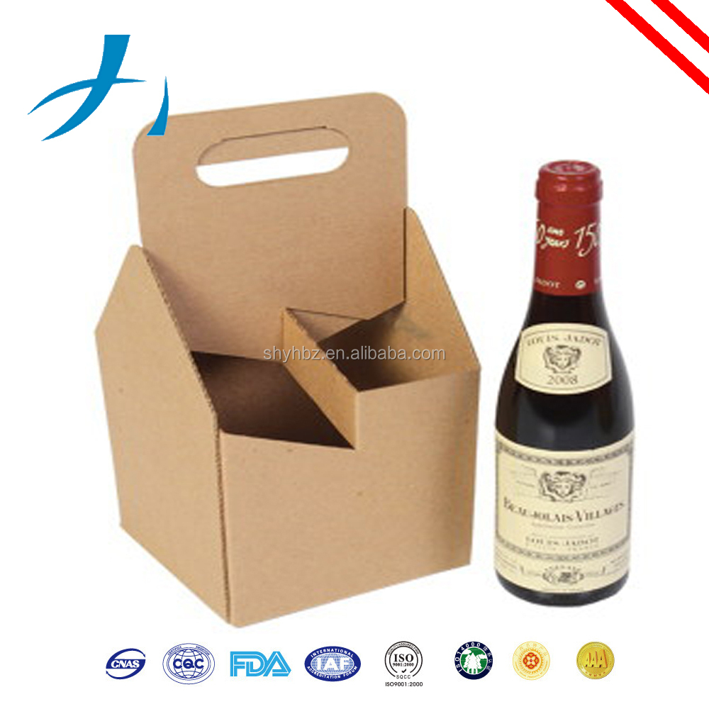 5-Layer AB-Flute Offset corrugated carton box stapling wine