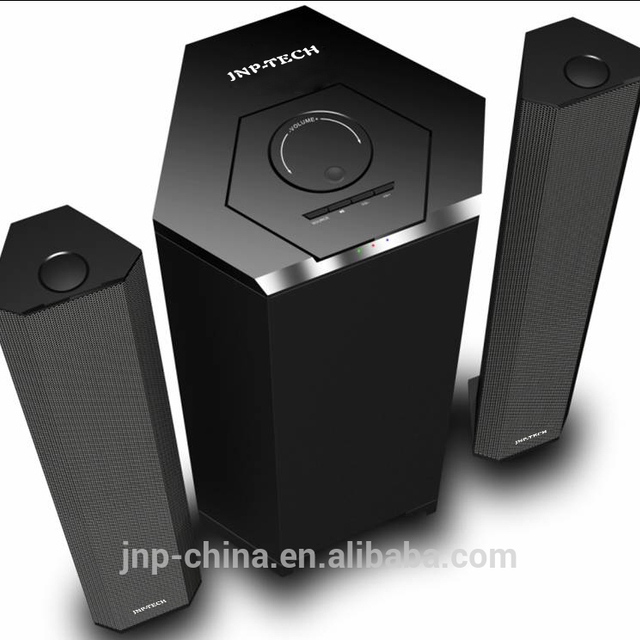 For Philips 2.1 Subwoofer Speakers with USB/SD/FM Radio/Remote Control