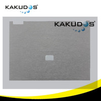 Silver Brushed laptop touchpad cover skin for HP 2530p all hp models