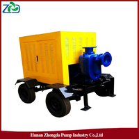 ZHONGDA ZYB Portable Waterlogging Drainage Diesel Water truck
