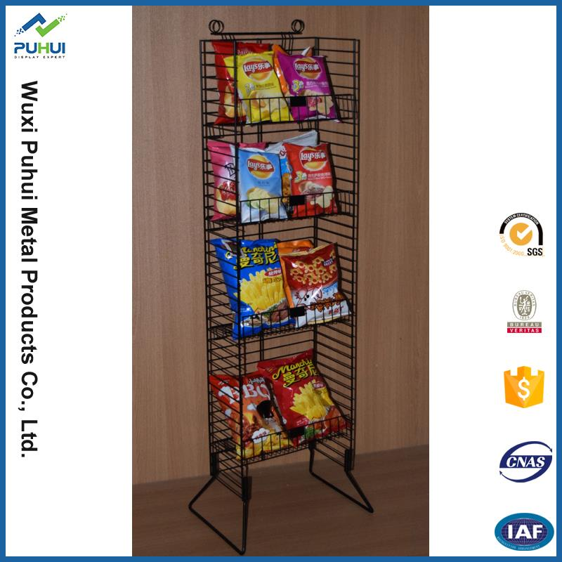 High precision decorative potato chips display fixture