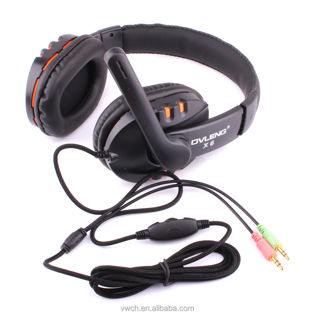 China Cheap Price Computer Chatting Online Stereo Headset for Sale, Wired Earphone with Mic