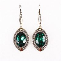 factory direct wholesale chain indian polki and jhumka earring