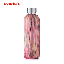 Stainless insulated vacuum compressed water bottle keep cooling water bottle