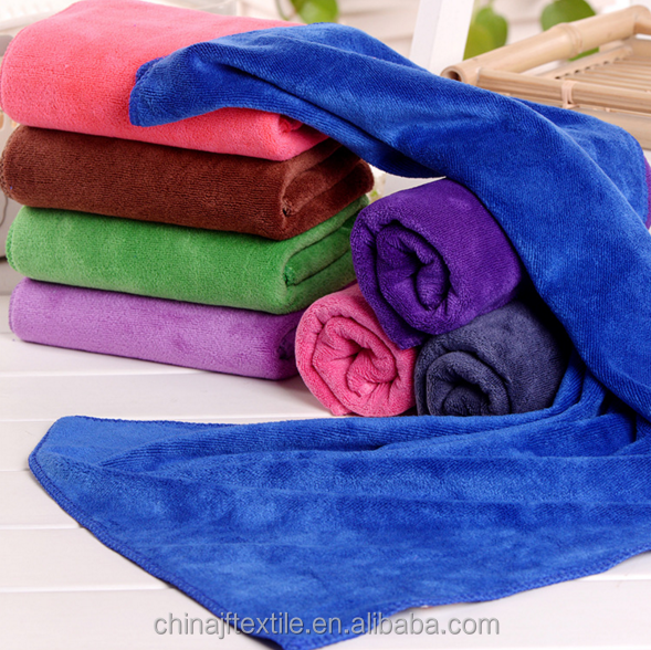 large size and thick Microfiber bath beach towel 400gsm JF-YJ018