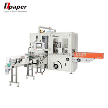 Facial Tissue Soft Pack And Plastic Pack Making Machines Pocket Handkerchief Paper Packing Machine