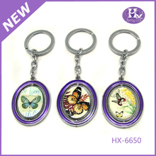 HX-6650 wholesale cheap unusual unique keyrings