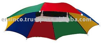 Rainbow Hat Umbrella 51cm