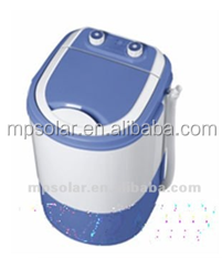 single tub 300w mini washing machine adopt PP/ABS/PVC material