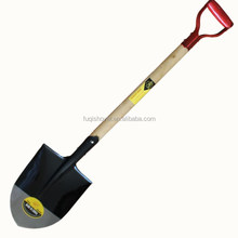 S503D garden tools wooden handle shovel