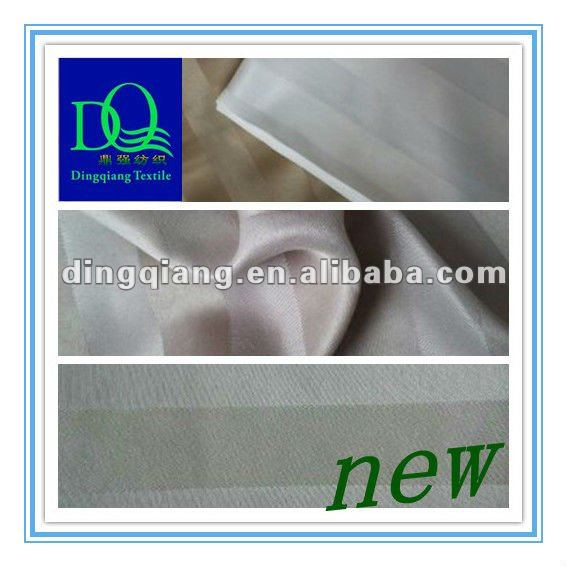 100% polyester satin fabric/raw material