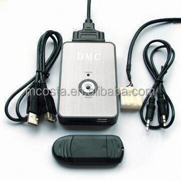 Car Aux with USB SD in Car Stereo Mp3 Adapter Player