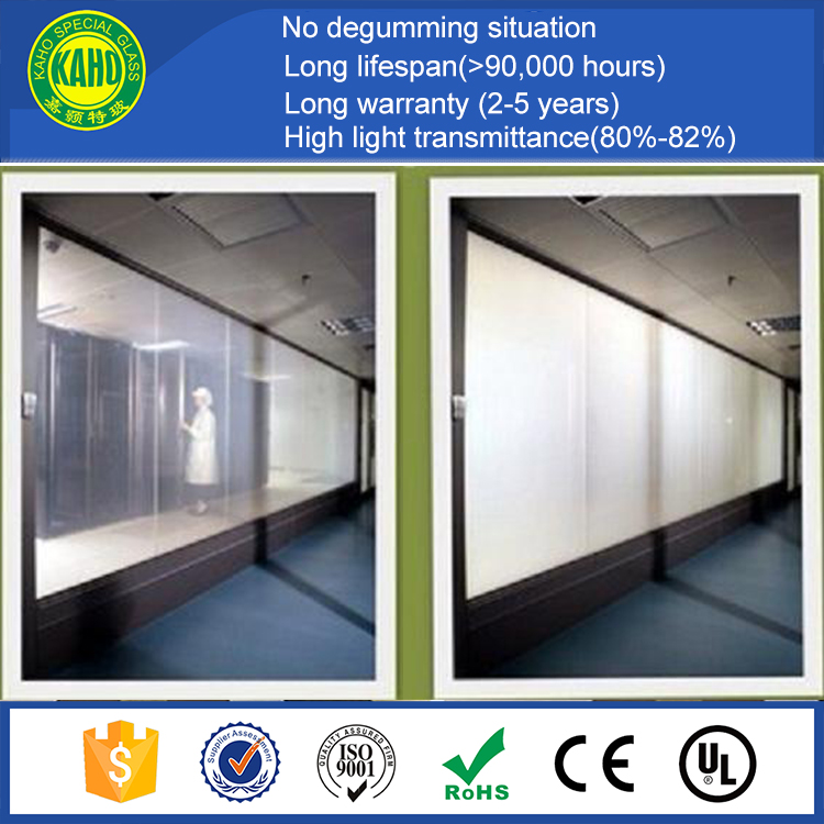 self-adhesive pdlc window glass tint film electronic