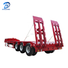 Mini Lowbed Semi Trailer For Excavator