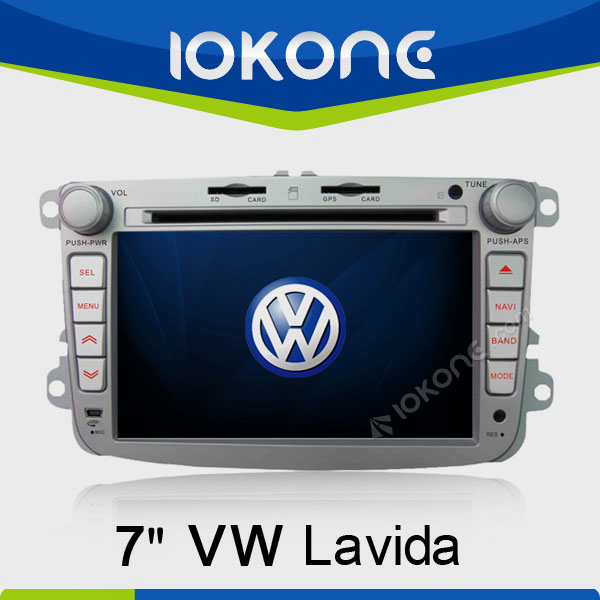 7in HD 2Din In Dash Touch Screen Car Navigator For VW Lavida