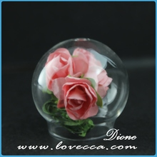 wholesale hand blown clear glass gazing balls