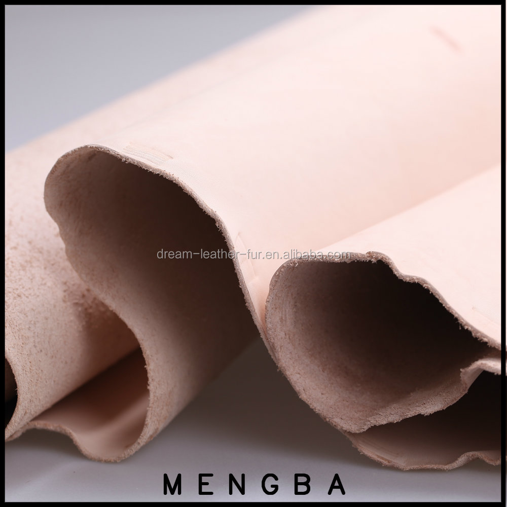 vegetable tanned leather hides, cow leather for making handbags DIY