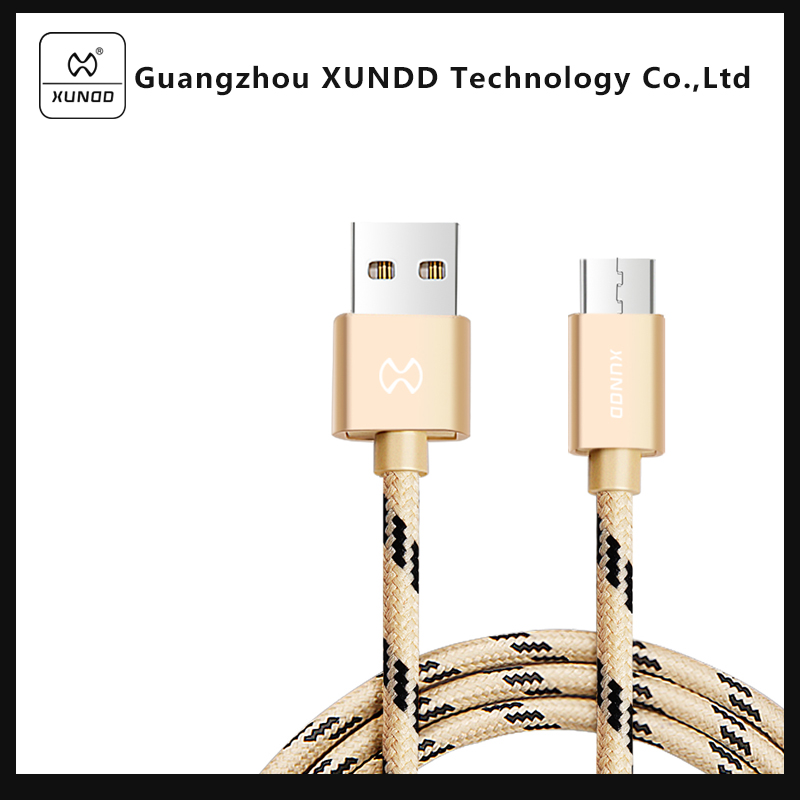 [XUNDD]Data Transfer & Charging Micro USB Cable for Apple Smart Phone