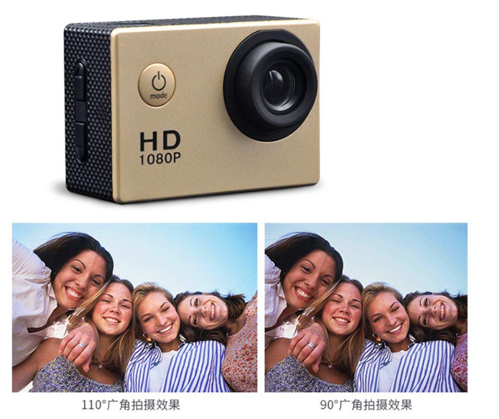 Vente chaude HD mini 1080 P Vidéo Numérique étanche Caméra De Sport - ANKUX Tech Co., Ltd