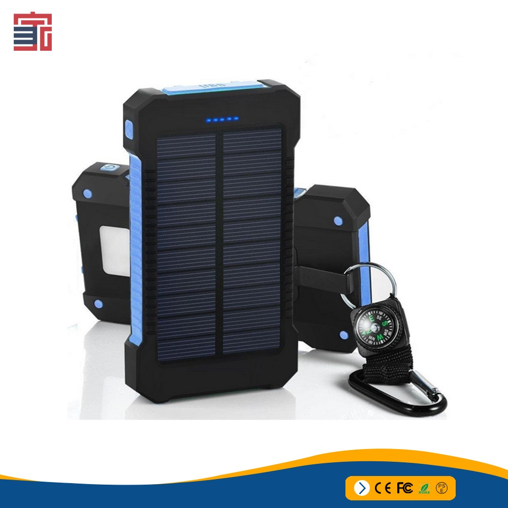 Innovative Portable 12V 20000mAH emergency jump starter/solar power bank/multi power bank power
