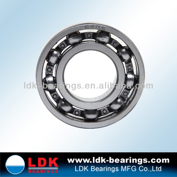 high quality deep groove roller ball bearing 6205