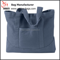 China Factory OEM Large Canvas Tote