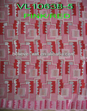 big korea swiss voile pink lace designs
