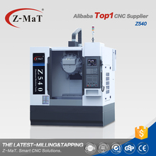 Chinese top supplier Z540 efficienct tapping milling cnc vertical machining center price