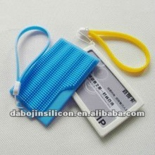 silicone card case for credit card for promotional gifts