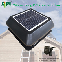 12 watt 12 inch patented 18V DC solar electric fan from innovative brands SIPL