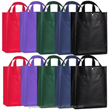 cheap PP non woven plastic fabric shopping bags