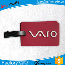 wholesale soft pvc travel tags luggage