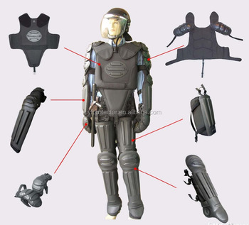 Army equipment Police overalls anti riot gear anti riot suit