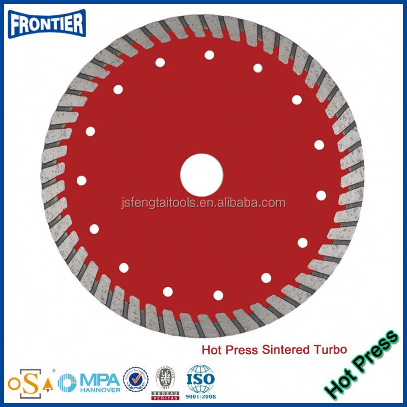 hot pressed sintered flange rolled steel strips diamond saw blades
