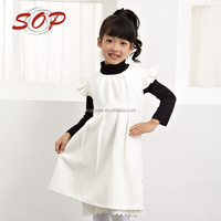Wholesale boutique clothing for kids woolen party girl winter dress