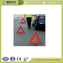 Superior quality warning triangle distance from car roadside emergency triangles