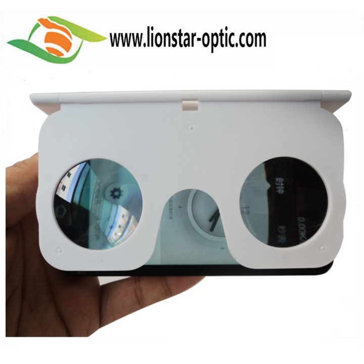 5-10% Discount Off in March,Foldable Plastic HD 3D Video Mini VR Glasses,Simple Type Google VR 3D Glasses