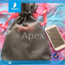 Cute non woven drawstring bag