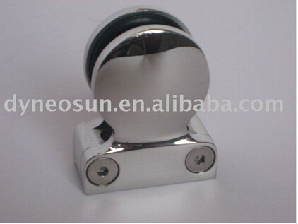 China D type stainless steel handrail glass clip fastener