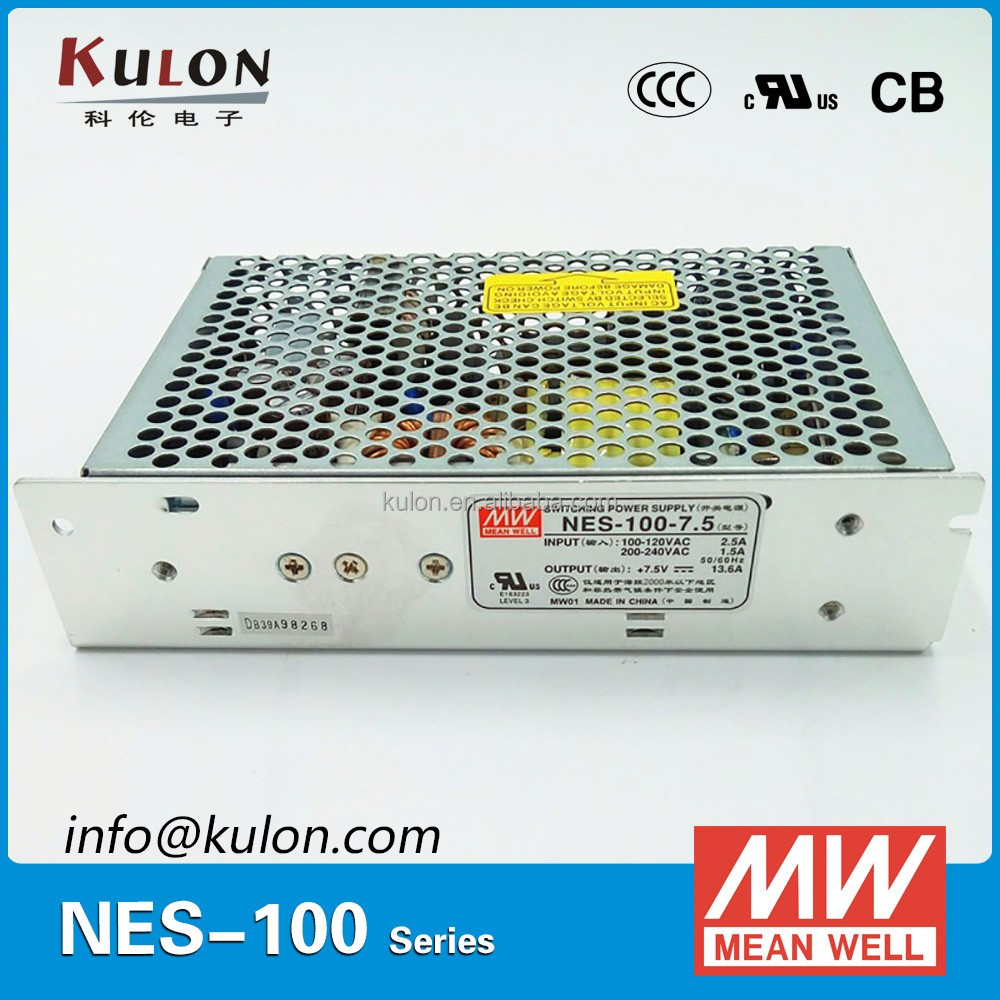 Meanwell 100W 5VDC/12VDC/24VDC/15VDC/48VDC Switching Power Supply (100w single output SMPS)