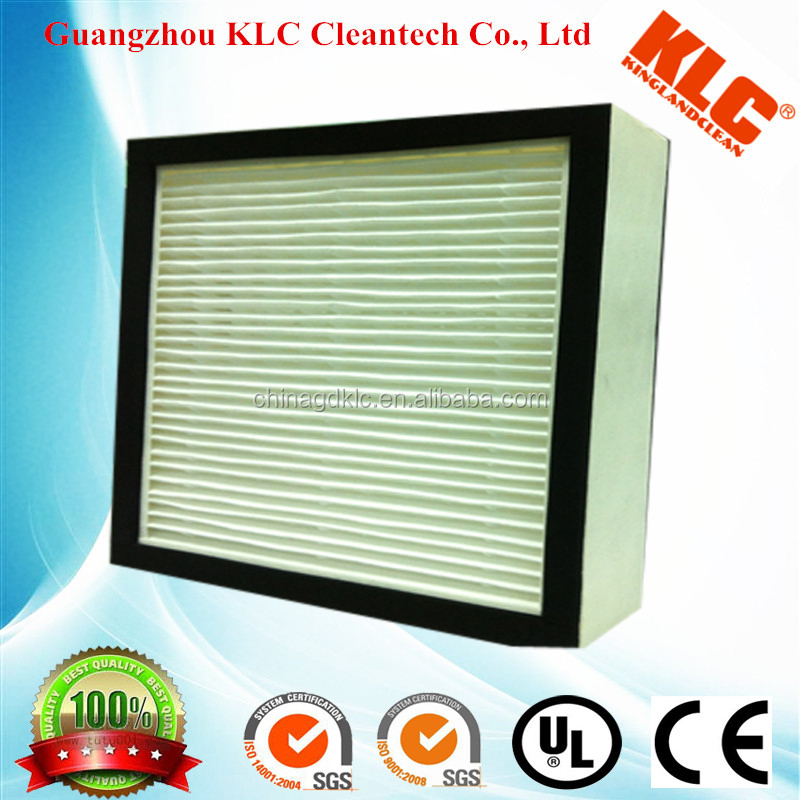 hepa filter h13, America HV media and auto gasket,cardboard paper filter