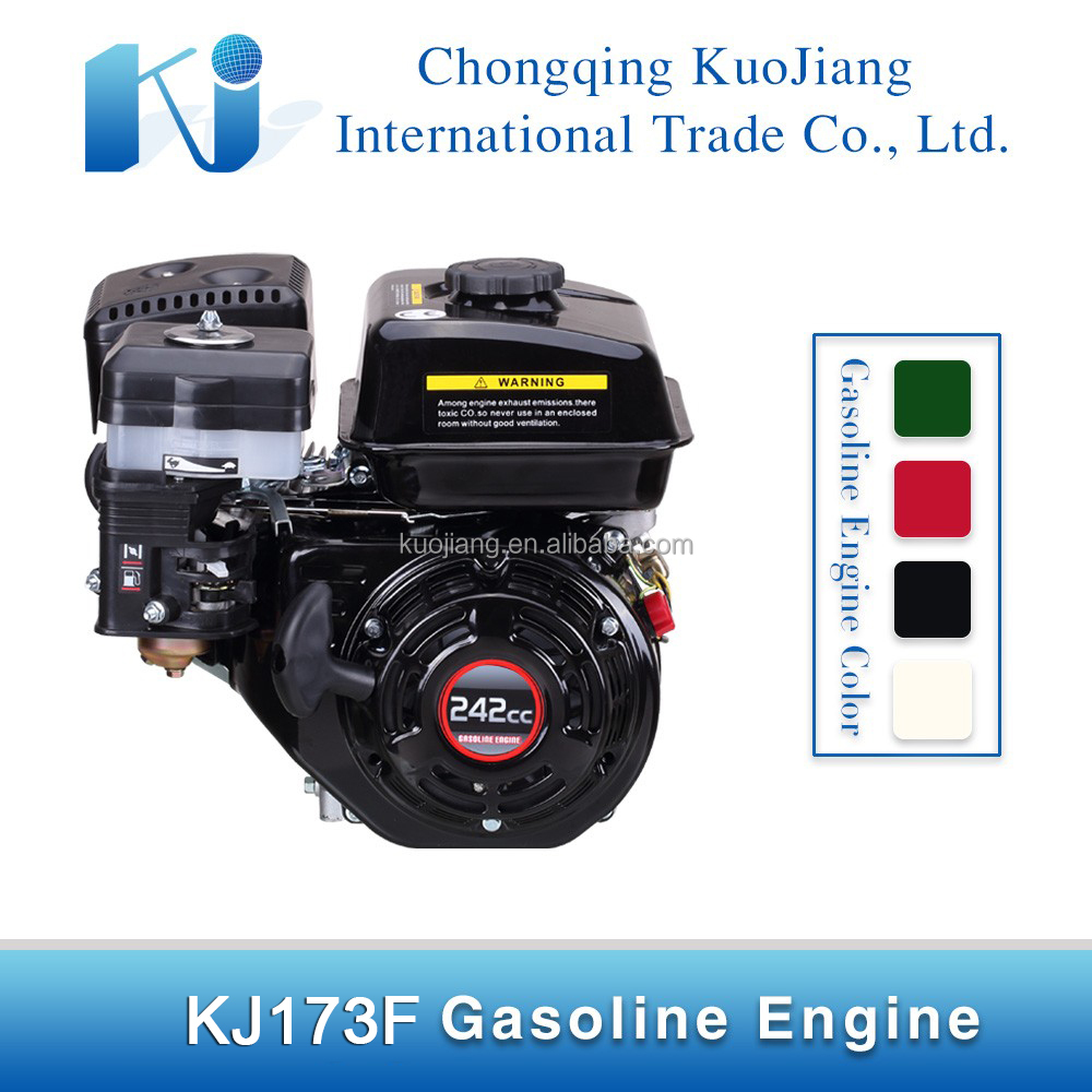 8hp recoil start/ key start petrol motor engine