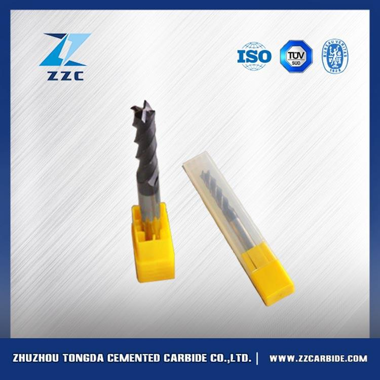 Original material cemented carbide end milling cutters