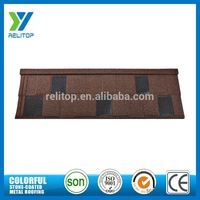 Eco-Friendly Aluminium Zinc Stone Chip Coated Metal Roofing